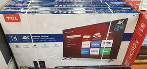 "65S421 65"" TCL UHD 4K HDR SMART ROKU TV for Sale in Las Vegas, NV"