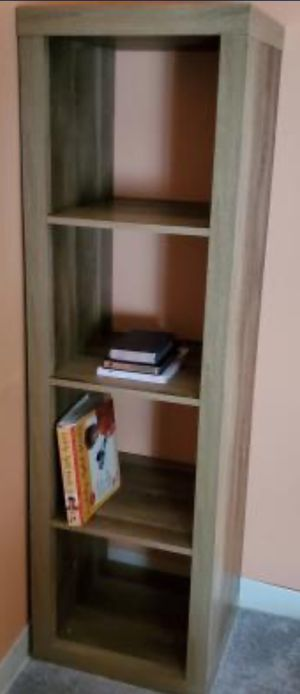 New!! 4 Cube Organizer,Storage Unit,Bookcase, Shelf Unit-Weathered Color for Sale in Phoenix, AZ