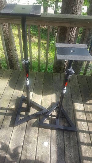 Pro-Line speaker stands $50 for Sale in Traverse City, MI
