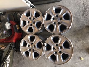 18 x 9 alloy Jeep Wheels for Sale in Aurora, CO