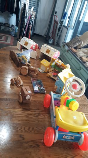 Vintage Fisher-Price toy collection for Sale in Bremerton, WA