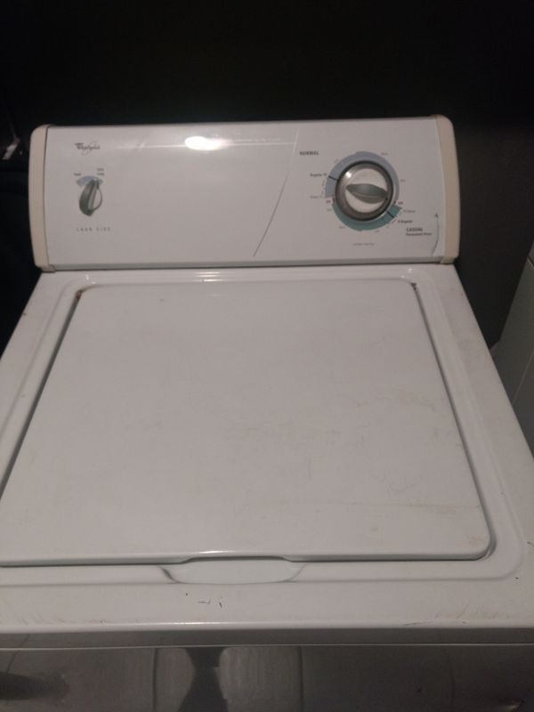 Whirlpool washer and electric dryer... Pending