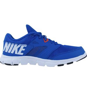 Nike size 7 Boys Flex Supreme trainers sneakers TR 3 (GS/PS) Trainers Hyper Cobalt for Sale in Clermont, FL