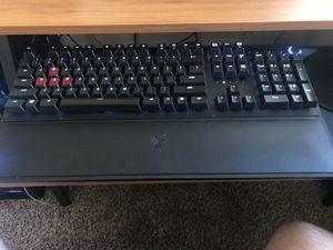 Razor huntsman elite keyboard. Red optical mechanical switch for Sale in Henderson, NV