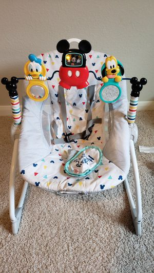 Mickey Mouse Infant-to-Toddler Vibrating Rocker for Sale in Pflugerville, TX