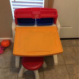 Step 2 Toddler Kids Desk for Sale in Bonney Lake, WA