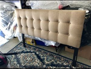 Bed frame backboard only like new 40inch height 55 width for Sale in Escondido, CA