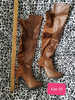 Size 9 - Brown Thigh High Boots for Sale in Austin, TX