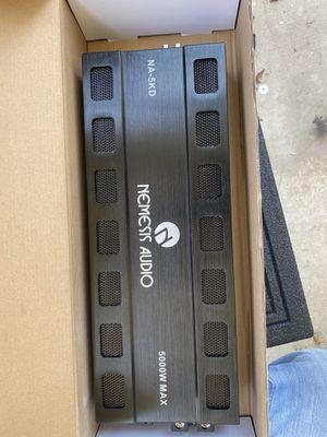 Nemesis audio 5k amplifier for Sale in Dallas, TX