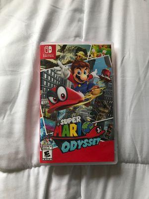 Nintendo Switch Mario Odyssey for Sale in Marysville, WA