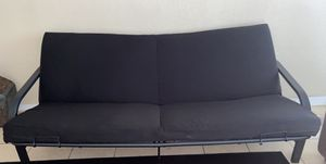 Futon couch & table for Sale in Oklahoma City, OK