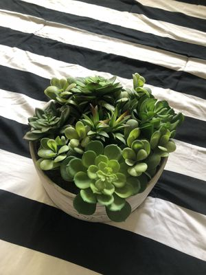 Trendy Artificial marble green plant for Sale in Santa Ana, CA
