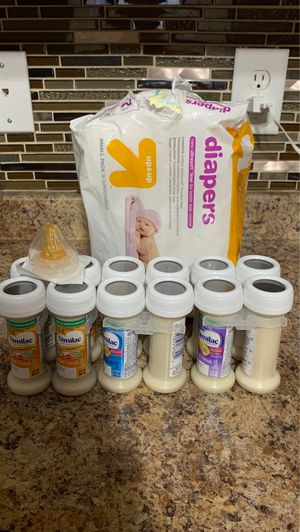 Formula and diapers for Sale in Jacksonville, NC