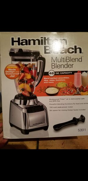 Brand New! Hamilton Beach Blender! Large Capacity! for Sale in Raleigh, NC