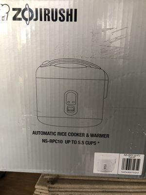 Zojirushi Rice Cooker and Warmer, 1.0-Liter, Tulip for Sale in Whittier, CA