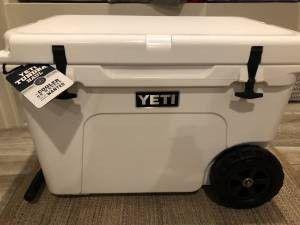 Yeti tundra haul cooler for sale for Sale in Cazenovia, WI