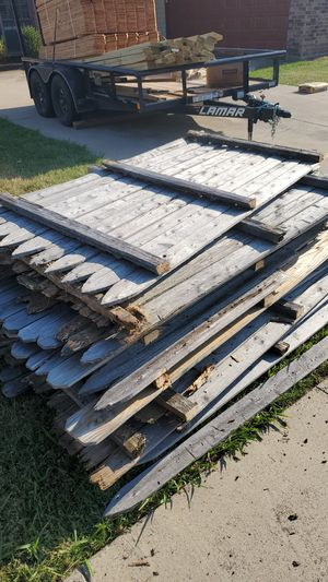 Free Fence Panels! 6' high Side by side! for Sale in Arlington, TX