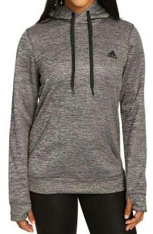 Adidas Originals Women's Team Issue Climawarm Fleece Hoodie (Gray) for Sale in Portland, OR
