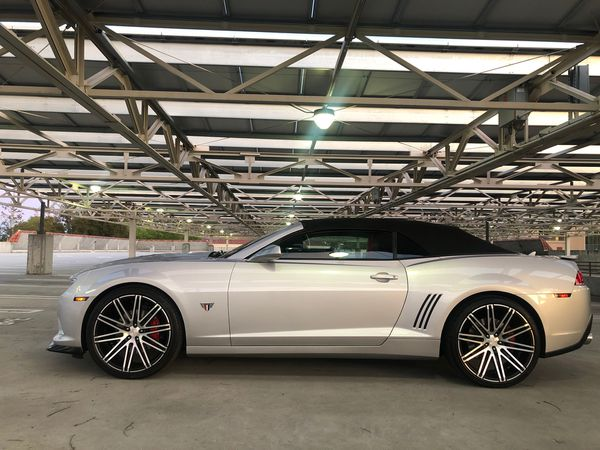 2015 Chevy Camero 2SS Convertible 50k mikes Excellent
