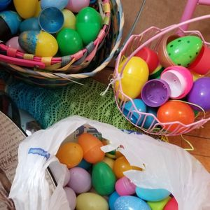 Tons Of Plastic Easter Eggs And Containers And Few Easter Baskets for Sale in Appleton, WI