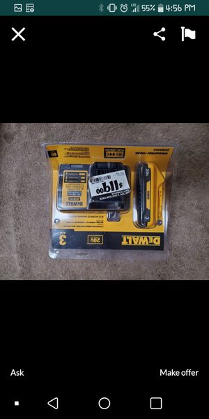 Dewalt battery & charger for Sale in Baton Rouge, LA