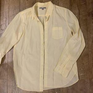 Uniqlo | Yellow Button Down Shirt for Sale in Chicago, IL