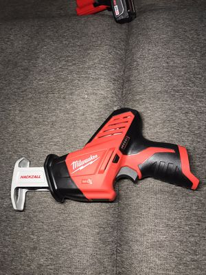 NEW Milwaukee M12 12-Volt Lithium-Ion HACKZALL Cordless Reciprocating Saw (Tool-Only)NO BATTERY NO CHARGER for Sale in Los Angeles, CA