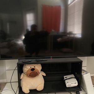 LG 60 Inch Smart TV / Shelf / LG Sound Bar for Sale in Las Vegas, NV