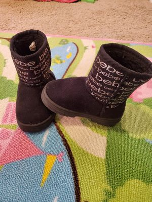 Size 7 girls boots. Toddler. From Bebe for Sale in Royal Palm Beach, FL