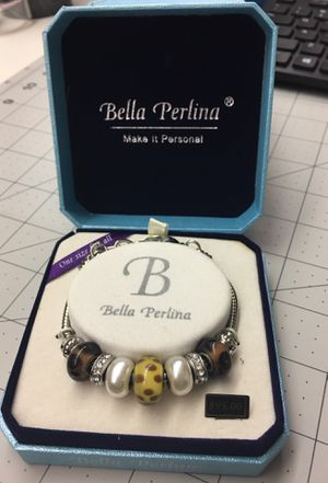 New in box - Bella Perlina charm bracelet for Sale in Bethesda, MD