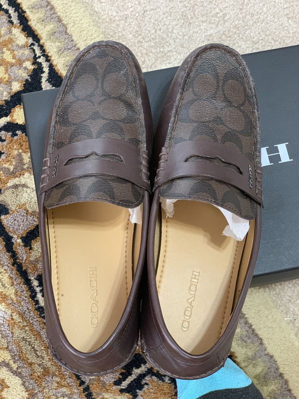 NICE MENS COACH LOAFERS
