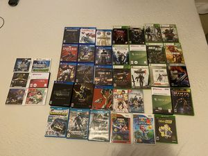 A lot of games ps4 Xbox one Xbox 360 Nintendo switch Wii Wii U 3ds for Sale in Seattle, WA