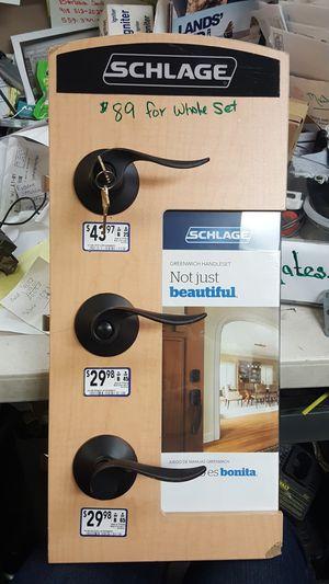 Scholage door knobs for Sale in Tulsa, OK