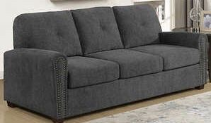 Grey fabric Queen sleeper sofa for Sale in UT, US
