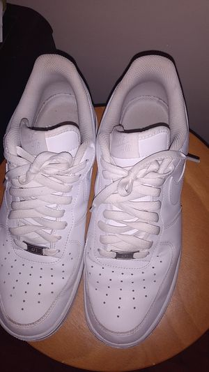 Size 10.5 white Nike air Forces for Sale in Cincinnati, OH