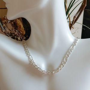 """🎁 NEW ** 17"""" ** sterling silver figaro chain for Sale in Pompano Beach, FL"""