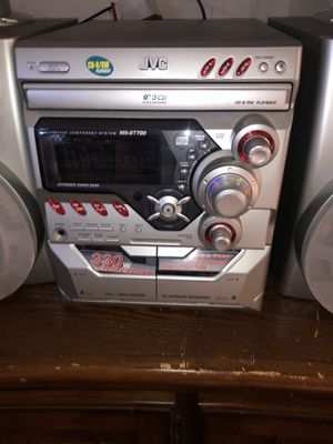 Jvc stereo system for Sale in Hercules, CA