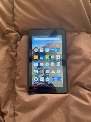 Pre-Owned Amazon Fire 7 Tablet - 7th Generation 8 GB for Sale in Piscataway, NJ