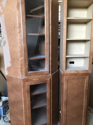 Kitchen Cabinets and Vanity- Used for Sale in Elk Grove Village, IL