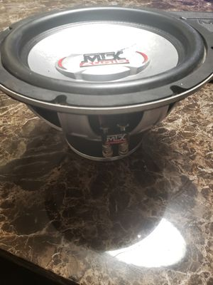 "MTX 10"" Subwoofer for Sale in Columbus, OH"