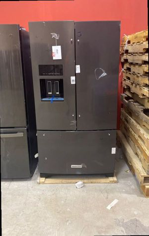 Kitchen aid KRFF507HBS refrigerator 🤩🤩🤩 S6 for Sale in San Antonio, TX