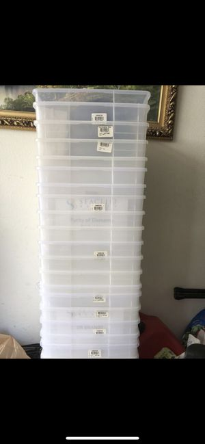 Sorage clear box for Sale in Irvine, CA