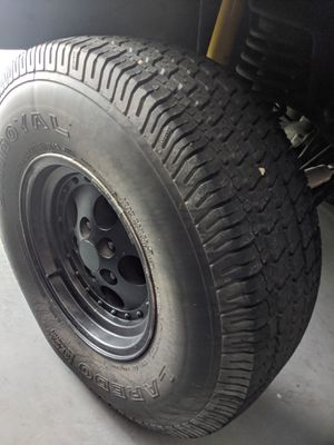 Tires and rims Jeep Wrangler 2001 for Sale in Winter Haven, FL