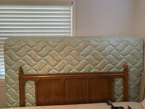 Queen sized headboard, bed frame for Sale in St. Petersburg, FL
