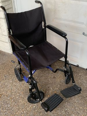 Collapsible heavy duty wheelchair for Sale in Miramar, FL