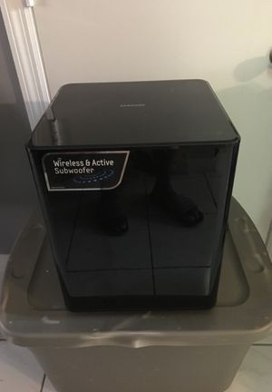 Samsung wireless subwoofer for Sale in Miami, FL