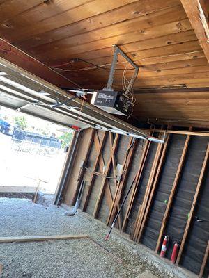 Garage door and electric opener for Sale in Los Angeles, CA