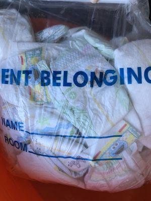 Bag of newborn diapers for Sale in Hayward, CA