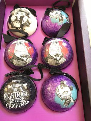 Disney Tim Burton's the nightmare before Christmas ornaments for Sale in Chula Vista, CA