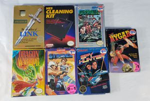 Nintendo NES Game and Box Lot Zelda Guerrilla Dragon Warrior Strider Spy Rygar for Sale in CANAL WNCHSTR, OH